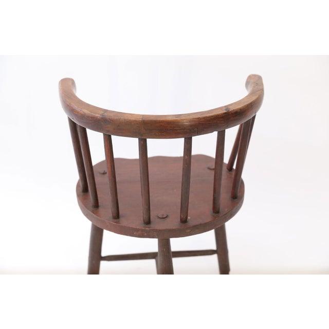 Scottish Horseshoe Back Chair For Sale - Image 11 of 12