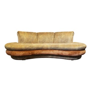 Adrian Pearsall Mid-Century Modern Cloud Sofa For Sale