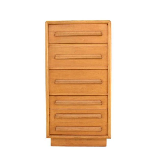 Deep Drawers Heavily Custom Built File Cabinet For Sale - Image 9 of 9