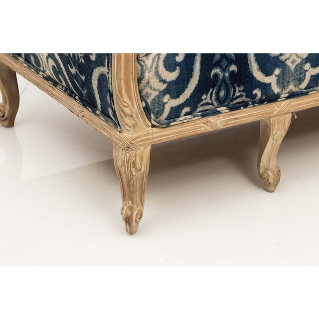 Blue French Chesterfield Sofa For Sale - Image 8 of 13
