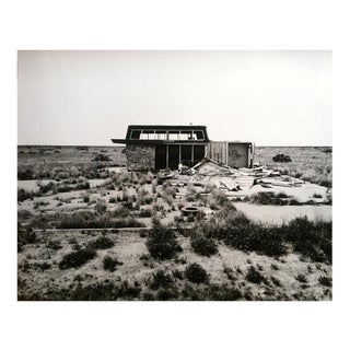 """Dead Gas Station"" Black & White Photograph For Sale"