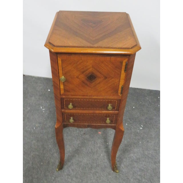 Louis XV Louis XV Rosewood Nightstand For Sale - Image 3 of 8