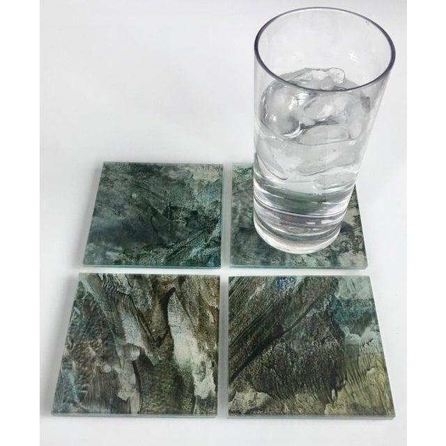 Upcycled Glass Coasters - Set of 4 - Image 8 of 8