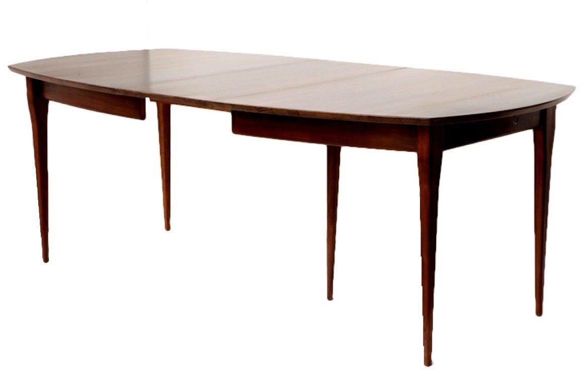 Bertha Schaefer Walnut Dining Table For Singer And Sons For Sale In New  York   Image