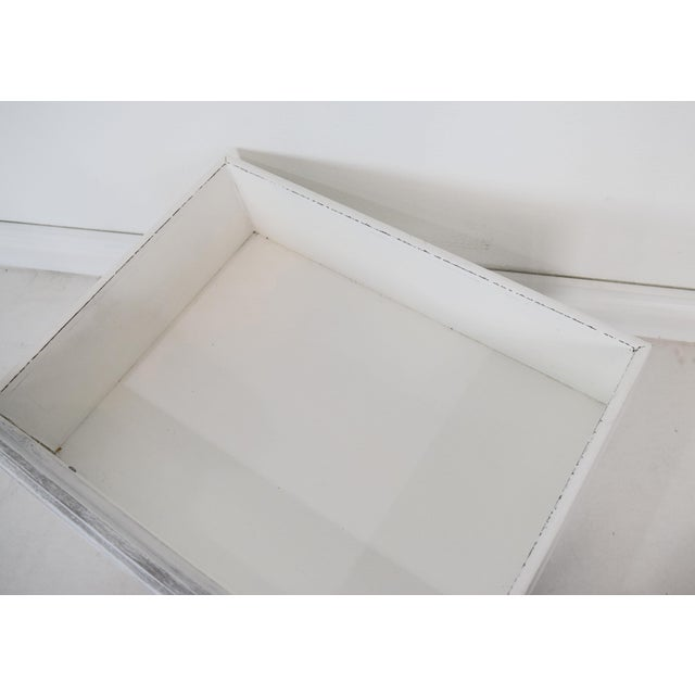 Wood Gray and White Mounted Drawer/Storage Box - Pet Bed For Sale - Image 7 of 12