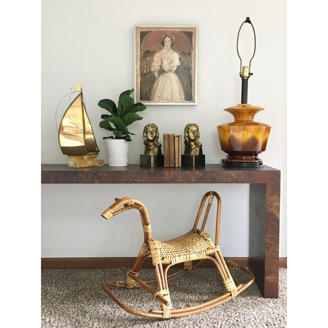 Female Brass Bookends For Sale - Image 10 of 11