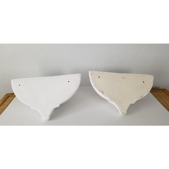 Italian Vintage Wall Planters - a Pair For Sale - Image 10 of 11