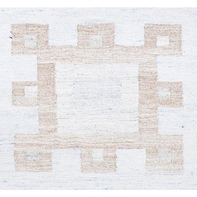 Schumacher Schumacher Patterson Flynn Martin Dimma Hand Woven Geometric Rug For Sale - Image 4 of 5