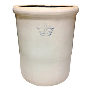 Robinson Ransbottom 12 Gallon Stoneware Crock For Sale