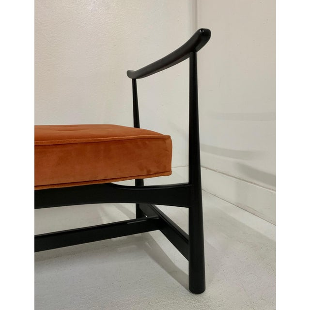 1950s 1950s Asian Style Bench For Sale - Image 5 of 6
