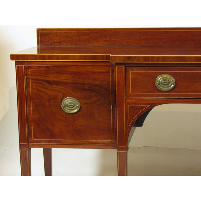 Metal 18th Century George III Inlaid Sideboard For Sale - Image 7 of 10