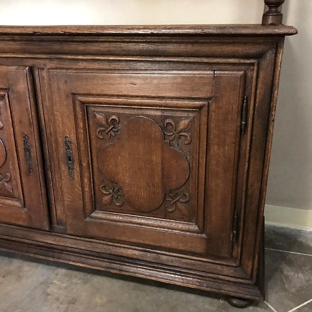 19th Century Italian Rustic Country Vaisselier For Sale - Image 10 of 11