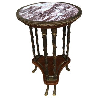 French Provincial Style Occasional Table For Sale