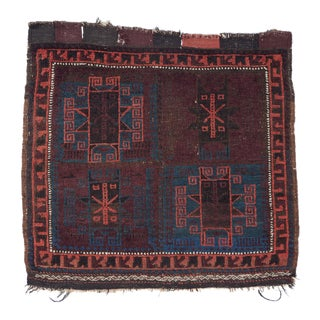 Baluch Bagface Rug - 2′ × 2′ For Sale
