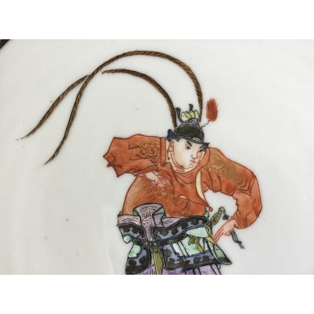 Early 19th Century Chinese Export Plate For Sale - Image 9 of 11