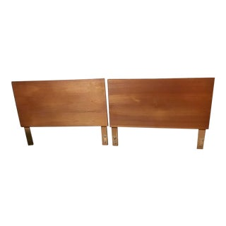 20th Century Danish Ulferts Mobler Twin Headboard Bed Sweden - a Pair For Sale