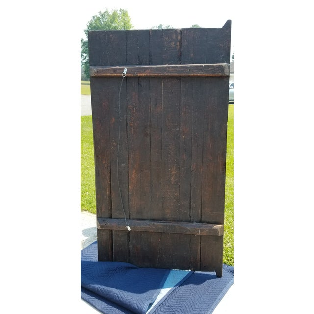 This door was an estate sale find from the estate of an American Naval pilot stationed in the South Pacific during the...