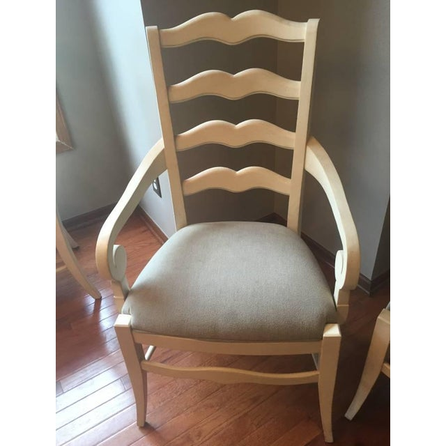 Ethan Allen Ladder Back End & Side Chairs - S/6 - Image 2 of 6