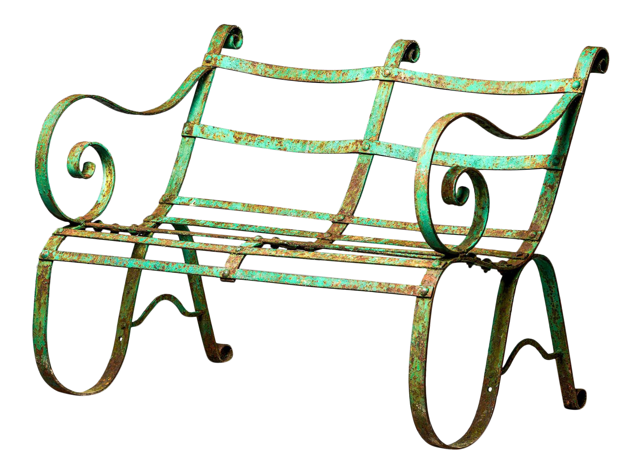 Vintage Used Wrought Iron Patio And Garden Furniture Chairish