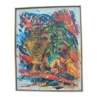 Barbara Weinberg Abstract Expressionist Painting