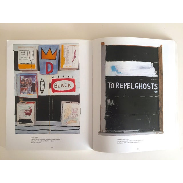 Jean Michel Basquiat Rare 1st Edtn Vintage 1992 Iconic Whitney Retrospective Exhibition Collector's Hardcover Art Book For Sale In Kansas City - Image 6 of 13