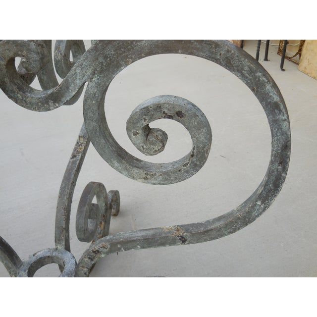 Vintage Palm Beach Iron Table - Image 10 of 11