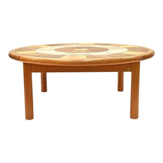 Mid-Century Haslev Coffee Table by Tue Poul For Sale