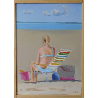 Beach Day by Anne Carrozza Remick For Sale