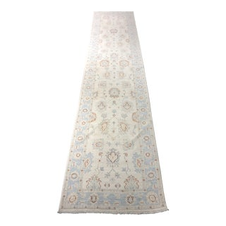 "Bellwether Rugs Oushak Runner Rug - 11'9""x2'8"" For Sale"