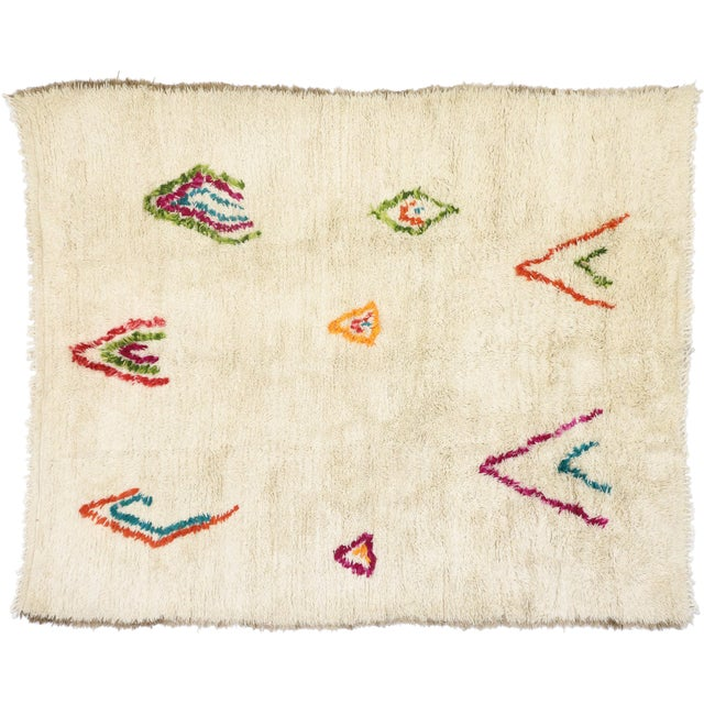 Moroccan Contemporary Berber Azilal Rug - 06'08 X 08'00 For Sale - Image 9 of 10