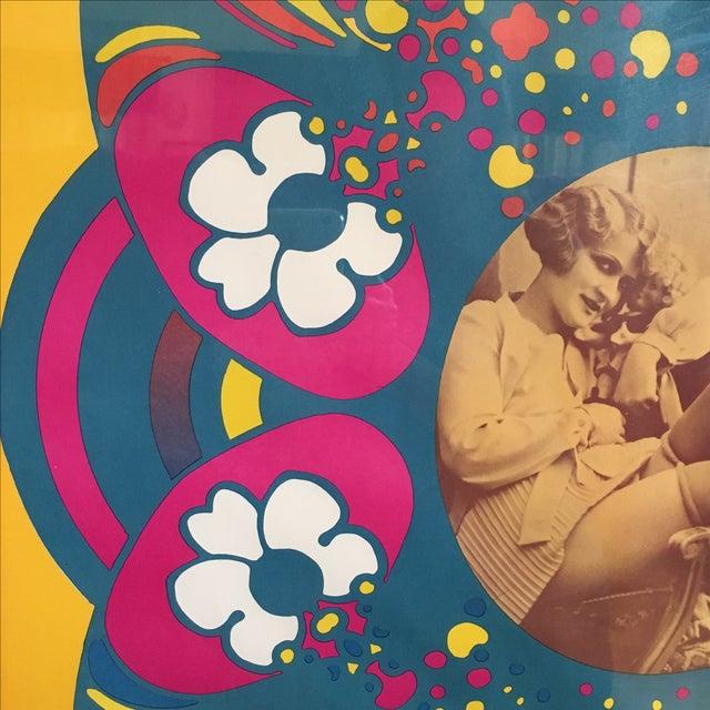 "Vintage ""Flapper"" Peter Max Poster - Image 9 of 11"