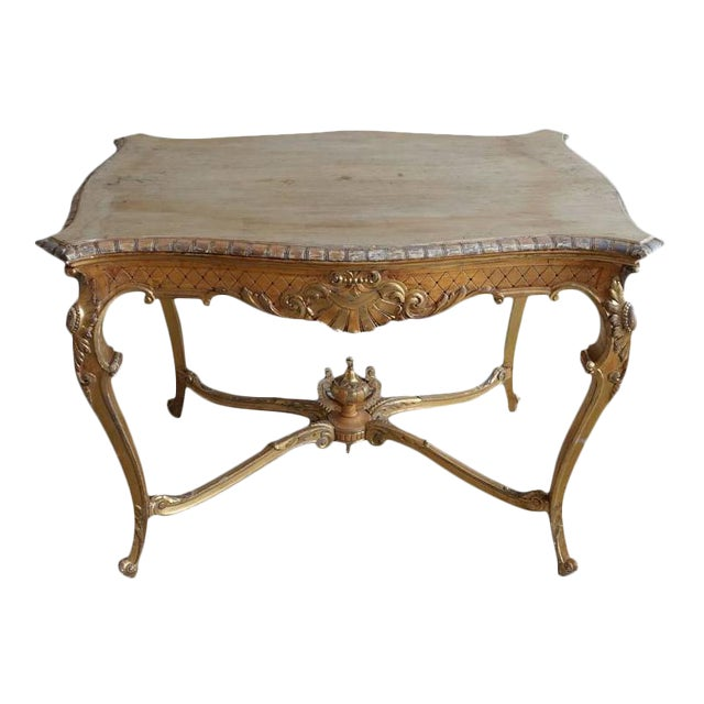 19th Century French Shell Design Table - Image 1 of 9