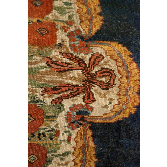 """Early 20th Century Early 20th Century Bakhtiari Runner - 105"""" x 202"""" For Sale - Image 5 of 5"""