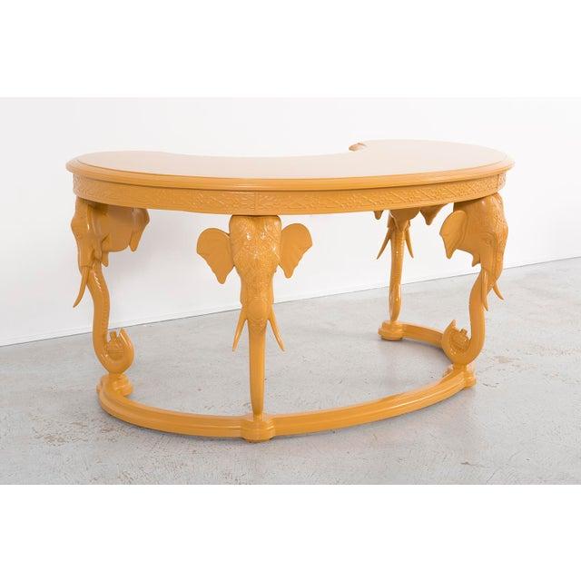 Gampel-Stoll Gampel-Stoll Elephant Desk For Sale - Image 4 of 8