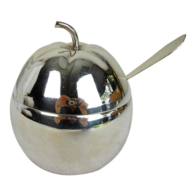 Silverplate Marmalade Server, 4 Pieces For Sale