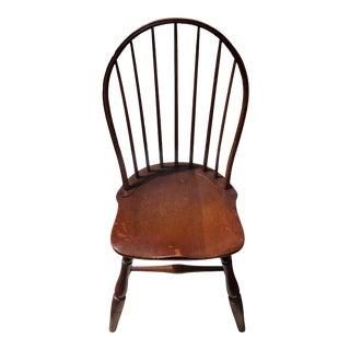 1920s Vintage Windsor Walnut Chair For Sale