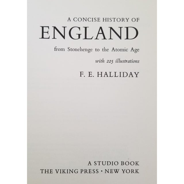 A Concise History of England From Stonehenge to The Atomic Age by F. E. Halliday. Published by The Viking Press of New...