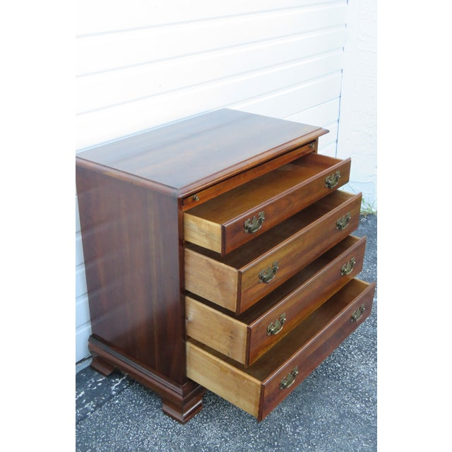 Solid Cherry Small Dresser With Pullout Tray 2413 For Sale - Image 4 of 13