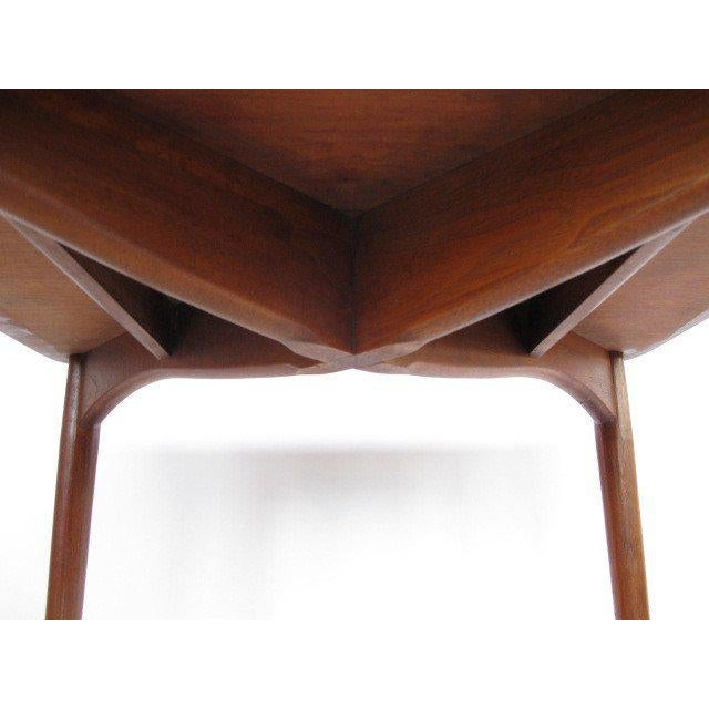 1950s 1950s Mid-Century Modern Finn Juhl for Baker Teak Card Table For Sale - Image 5 of 10