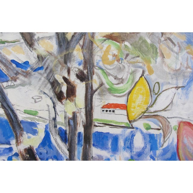 """Contemporary Neil Brooks """"Dog Beach"""" Landscape Painting For Sale - Image 3 of 6"""