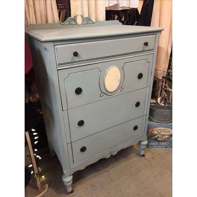 1930s Antique Distressed Dresser - Image 3 of 8