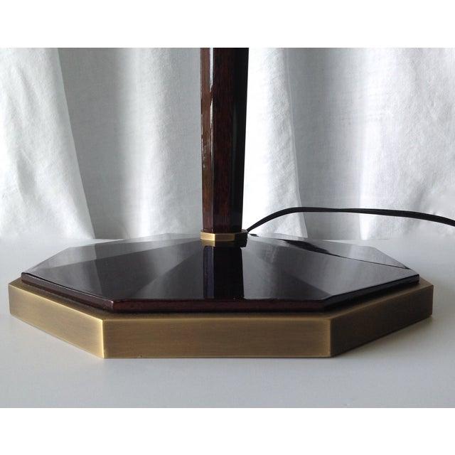 "Baker Furniture Company C.1990's Thomas Pheasant ""Paris"" Floor Lamp for Baker Furniture Company For Sale - Image 4 of 10"