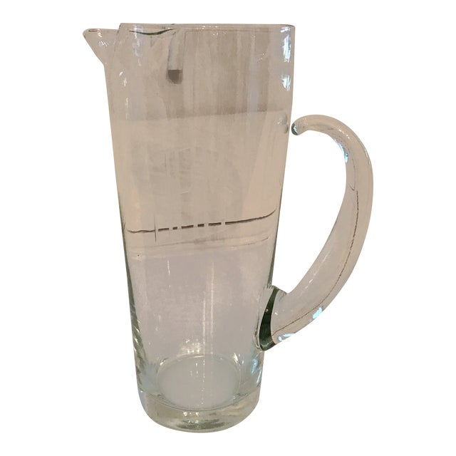 Vintage Mid Century Cocktail Pitcher For Sale