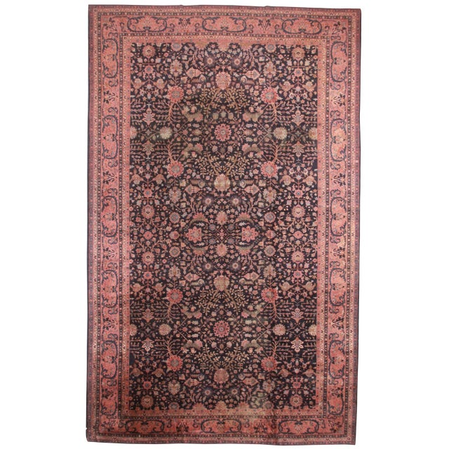 "RugsinDallas Turkish Sparta Wool Rug - 10'5"" X 17'5"" - Image 1 of 2"