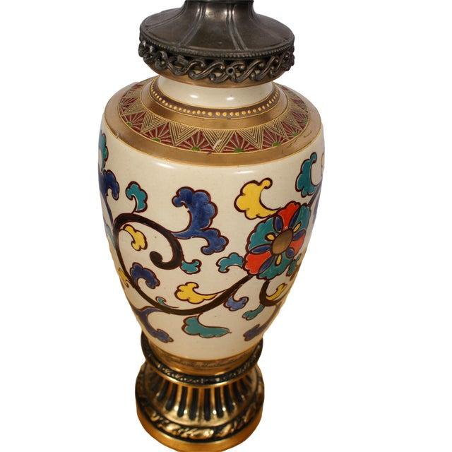 Bohemian Asian Lamp - Image 2 of 4
