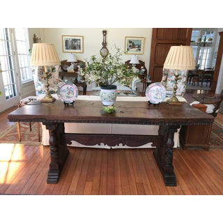 Trestle Dining Table Preview