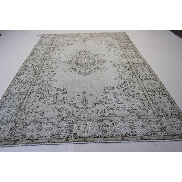 Oriental Overdyed Turkish Rug - 6′1″ × 9′8″ - Image 8 of 9