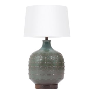 Vintage Mid Century Ceramic Table Lamp by David Cressey for Architectural Pottery For Sale