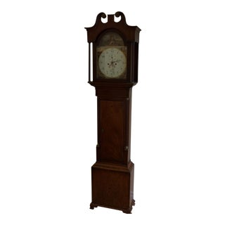 18th Century English Mahogany Tall Case Clock