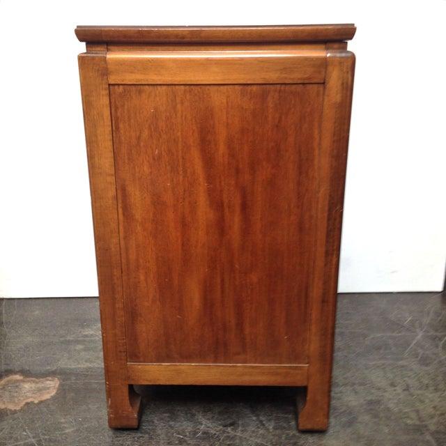 Thomasville Burled Asian Style Cabinet - Image 6 of 8